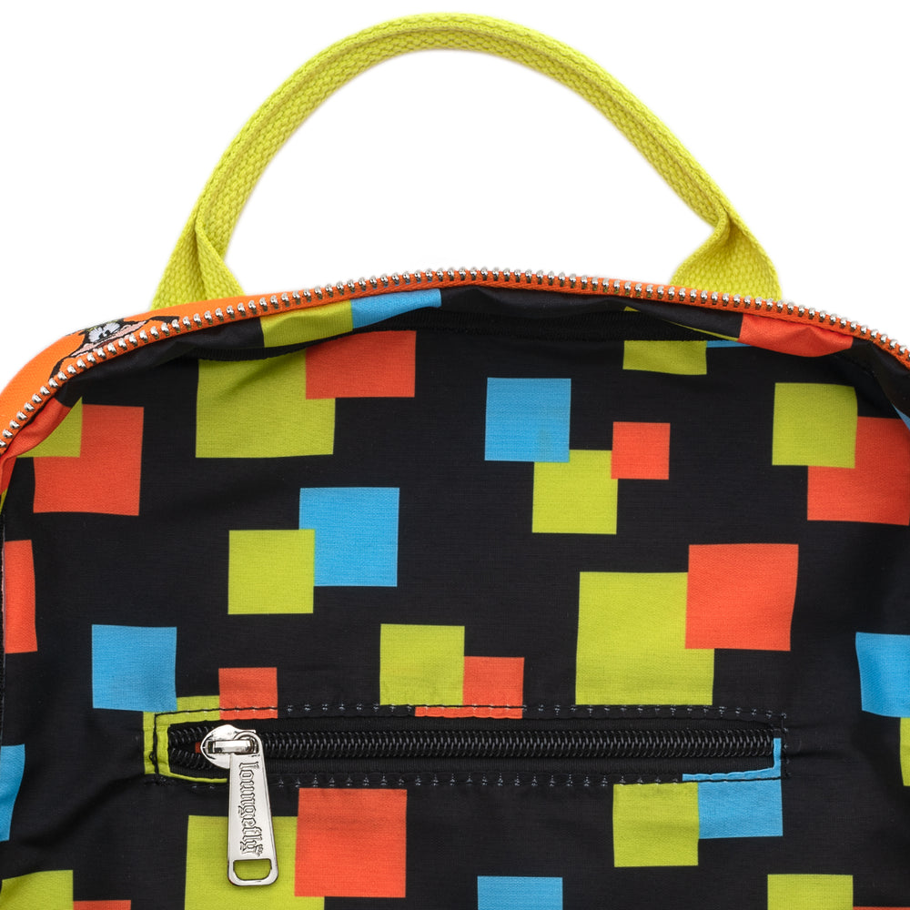 Loungefly X Disney Goofy AOP Canvas Mini Backpack-zoom