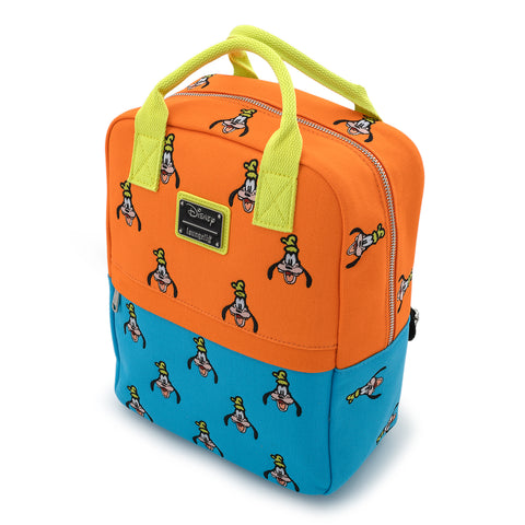 Loungefly X Disney Goofy AOP Canvas Mini Backpack