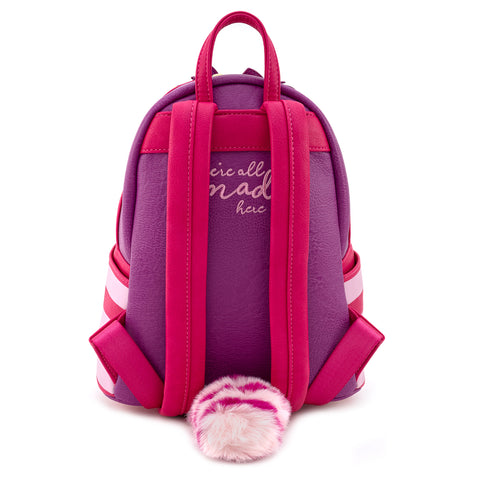 Loungefly X Disney Alice In Wonderland Cheshire Cat Cosplay Mini Backpack