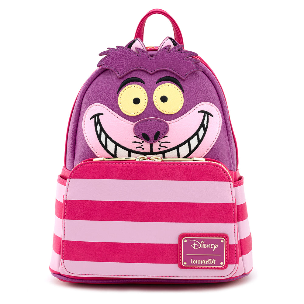 Loungefly X Disney Alice In Wonderland Cheshire Cat Cosplay Mini Backpack-zoom