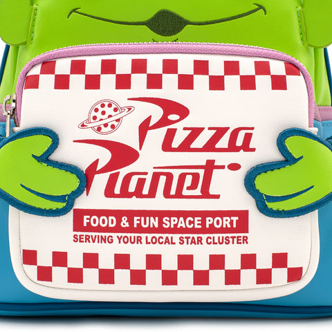 Pixar Toy Story Pizza Planet Alien Mini Backpack