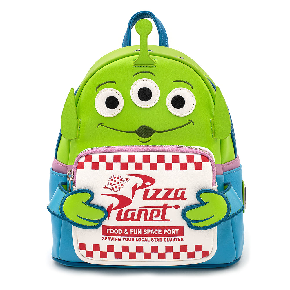 Pixar Toy Story Pizza Planet Alien Mini Backpack-zoom