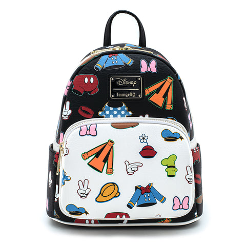 Loungefly X Disney Sensational 6 Outfits AOP Mini Backpack