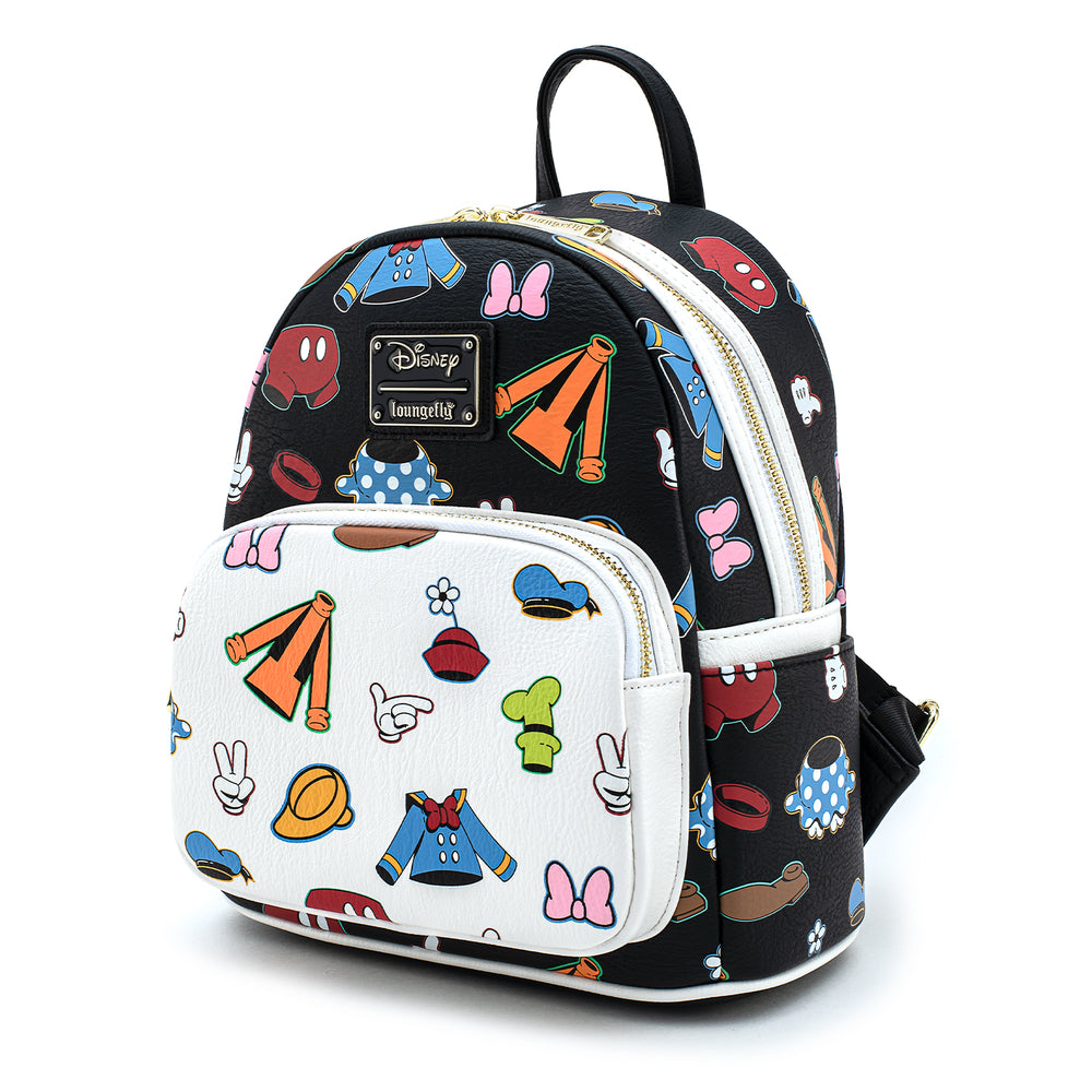 Disney Sensational 6 Outfits AOP Mini Backpack-zoom