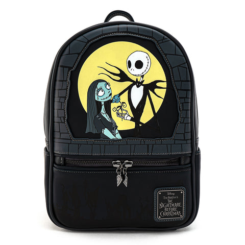 Loungefly X Disney The Nightmare Before Christmas Simply Meant to Be Mini Backpack