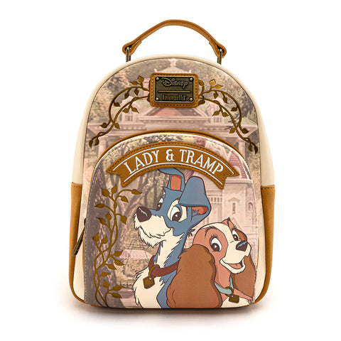 Loungefly X Disney The Lady and The Tramp Scenic Mini Backpack