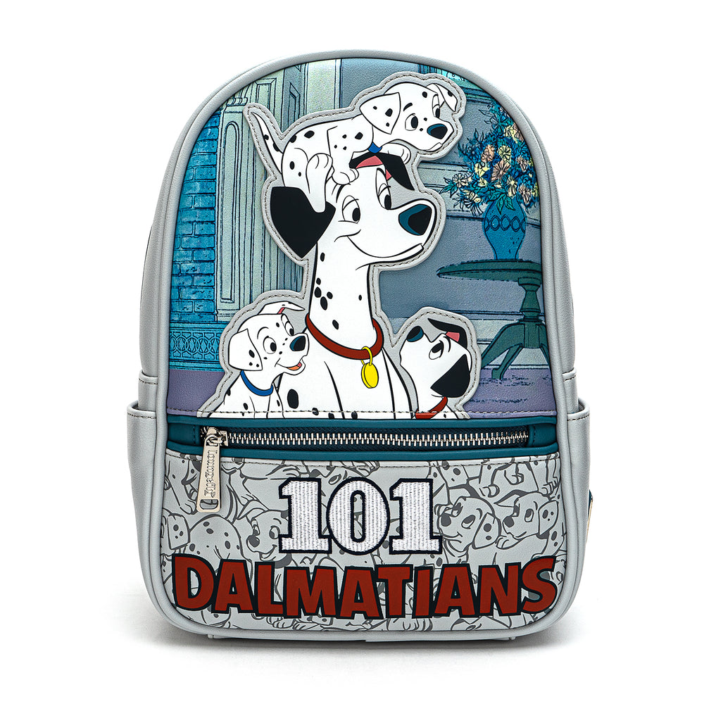 Loungefly X Disney 101 Dalmatians All The Puppies Mini Backpack-zoom