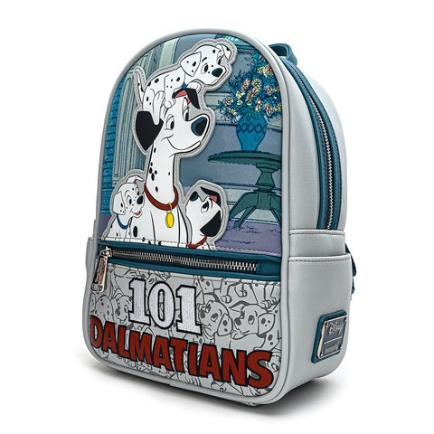 Loungefly X Disney 101 Dalmatians All The Puppies Mini Backpack