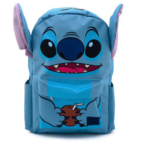 Loungefly X Disney Lilo and Stitch Stitch Coconut Cosplay Nylon Backpack
