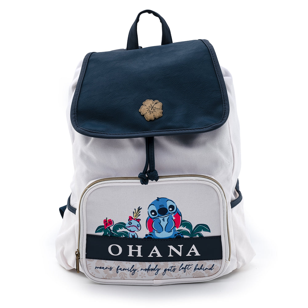 Disney Lilo and Stitch Ohana Slouch Backpack-zoom