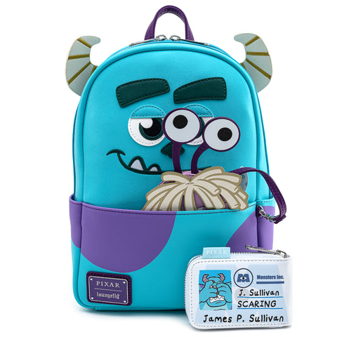 Loungefly X Pixar Monsters Inc Sully Cosplay Mini Backpack W Boo Coi Loungefly Com