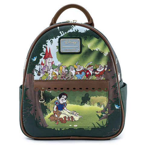 Loungefly X Disney Snow White and The Seven Dwarfs Scene Mini Backpack