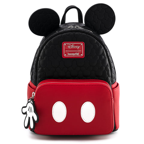 Loungefly X Disney Mickey Mouse Quilted Cosplay Mini Backpack