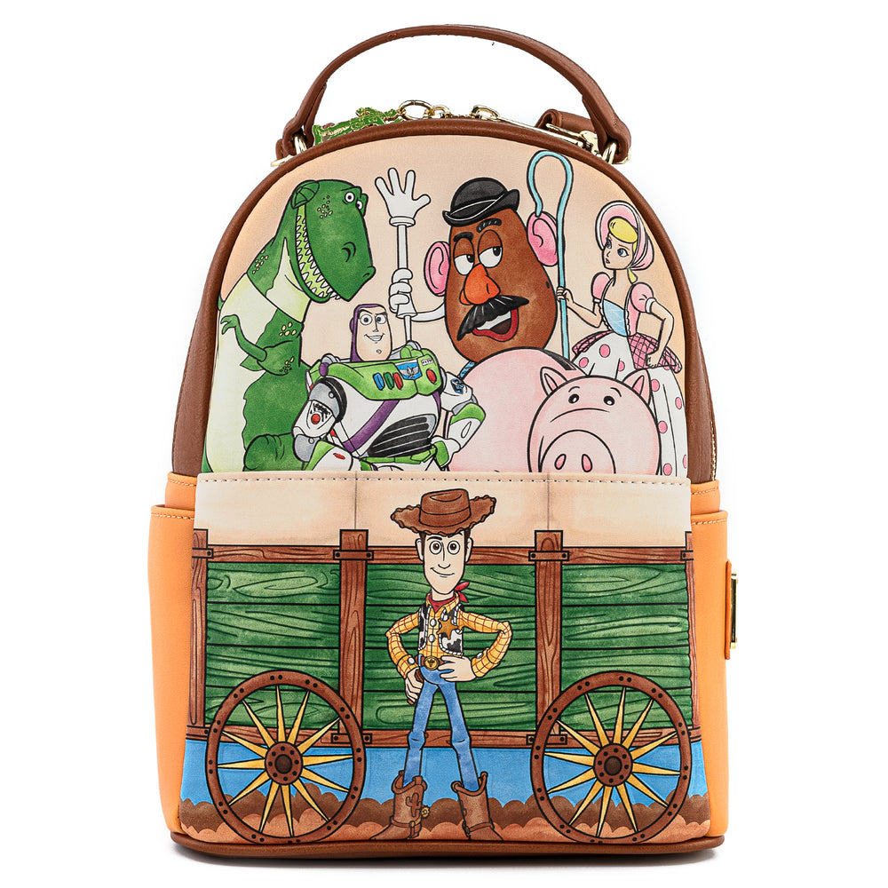 Pixar Toy Story 25th Anniversary Exclusive Convertible Backpack-zoom