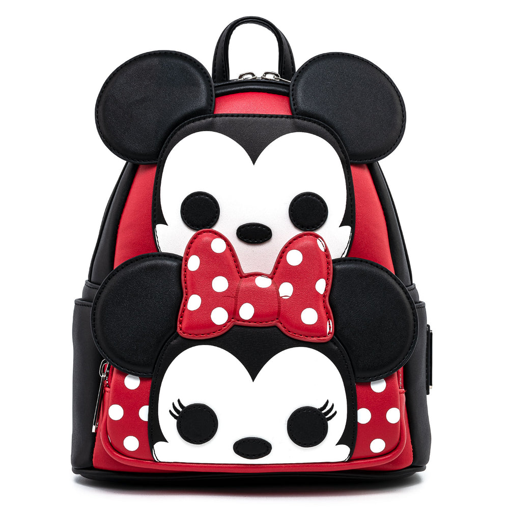 Funko Pop! by Loungefly Mickey & Minnie Mouse Cosplay Mini Backpack-zoom