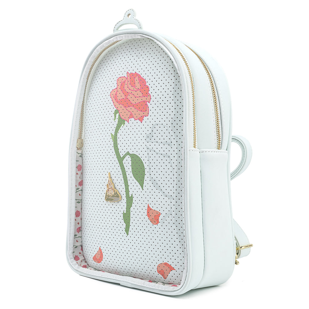 Disney Beauty & The Beast Pin Trader Convertible Backpack-zoom
