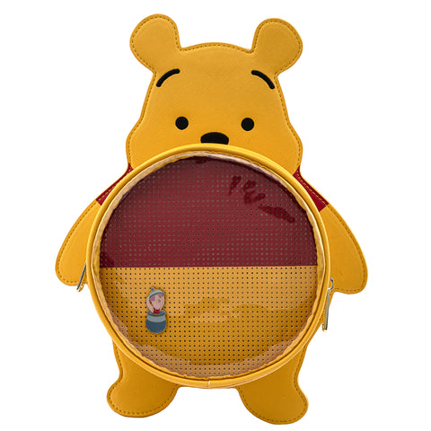 Disney Winnie the Pooh Pin Trader Convertible Backpack