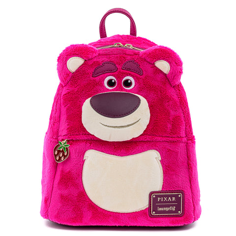 Pixar Lotso Cosplay Cosplay Plush Mini Backpack Front View