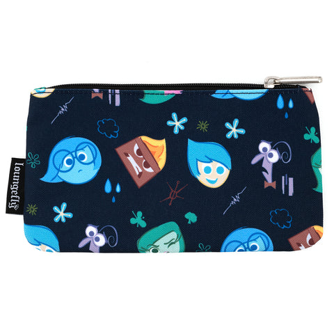 Loungefly X Pixar Inside Out Emotions AOP Nylon Pouch