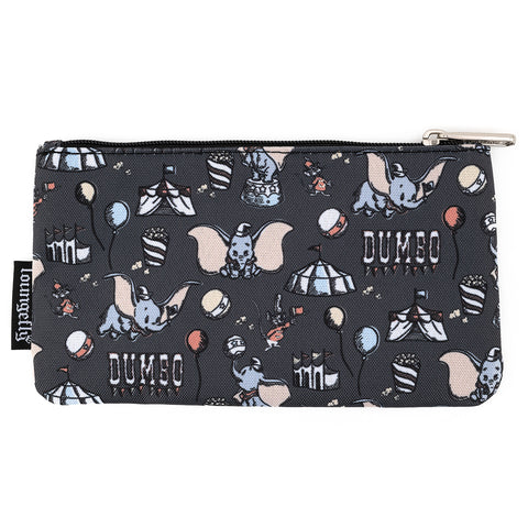 Loungefly X Disney Big Top Dumbo AOP Nylon Pouch