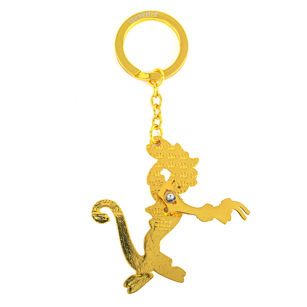 Disney Mushu and Cri-kee Movable Arm Enamel Keychain-zoom