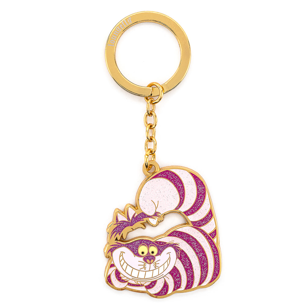 Loungefly X Disney Cheshire Cat Enamel Keychain-zoom
