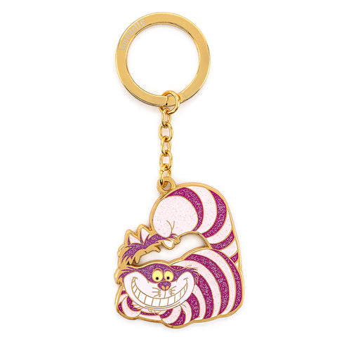 Loungefly X Disney Cheshire Cat Enamel Keychain
