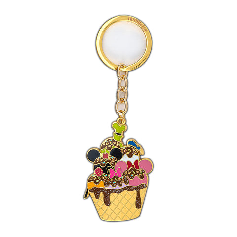 Disney Sensational 6 Ice Cream Enamel Keychain