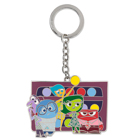 Loungefly X Pixar Inside Out Group Enamel Keychain