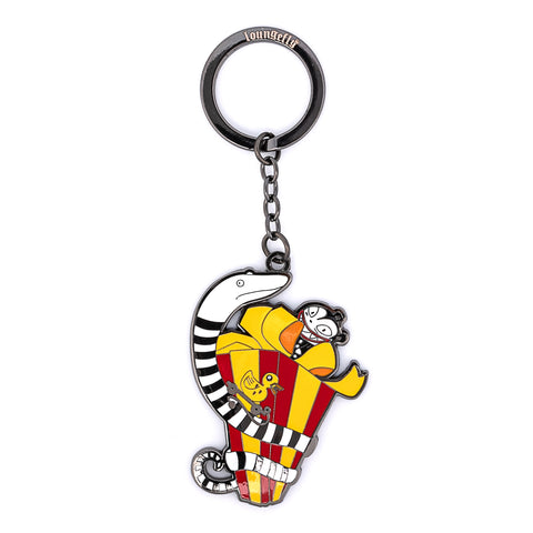 Disney The Nightmare Before Christmas Scary Present Enamel Keychain