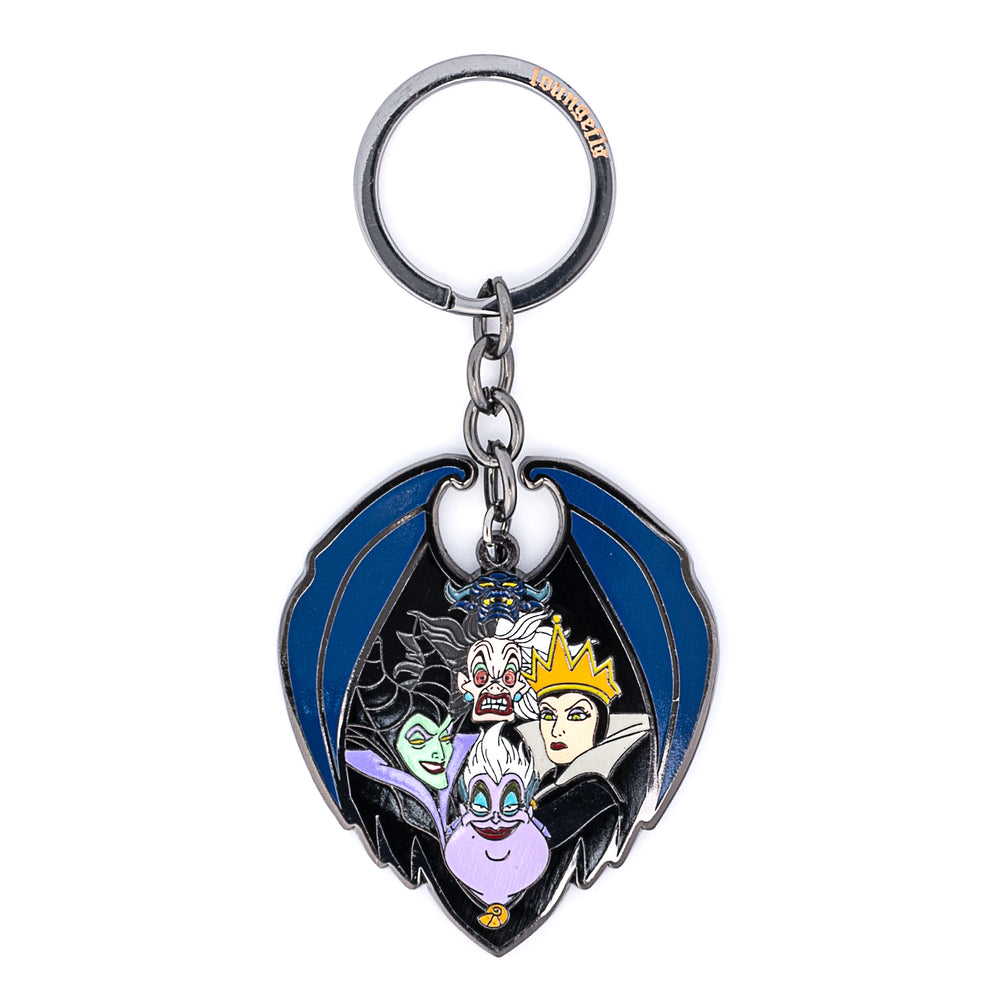 Disney Villains Enamel Keychain-zoom