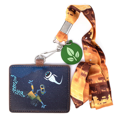 Pixar Wall-E Space Lanyard with Cardholder