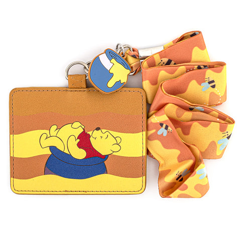 Disney Winnie the Pooh Lanyard with Cardholder