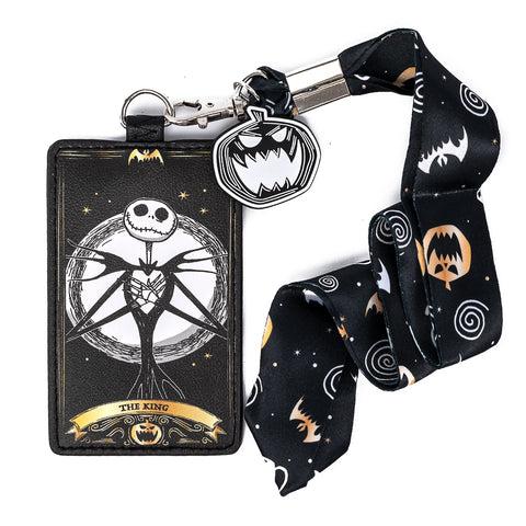 Disney The Nightmare Before Christmas Lanyard with Cardholder