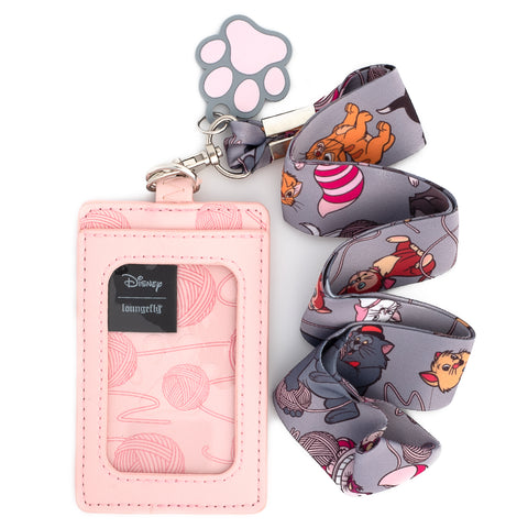 Disney Cats Lanyard with Cardholder