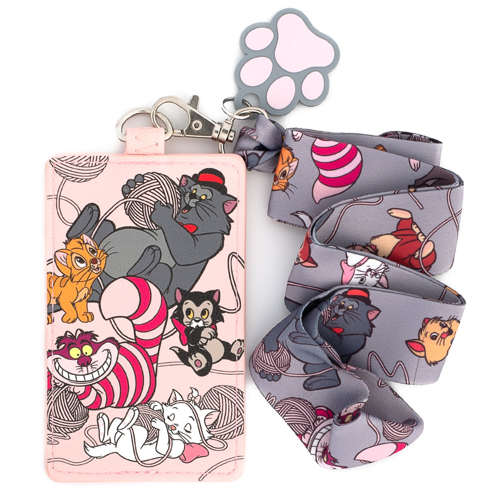 Disney Cats Lanyard with Cardholder-zoom