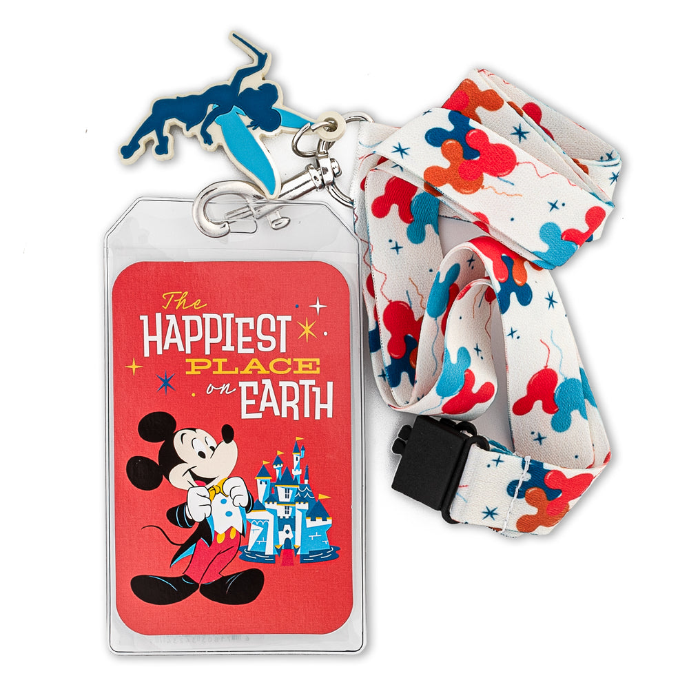 Disneyland 65th Anniversary Lanyard with Cardholder-zoom