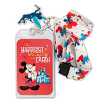 Disneyland 65th Anniversary Lanyard with Cardholder