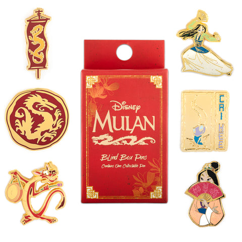Loungefly X Disney Mulan Blind Box Hard Enamel Pin