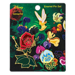 Disney Alice in Wonderland 4pc Enamel Pin Set