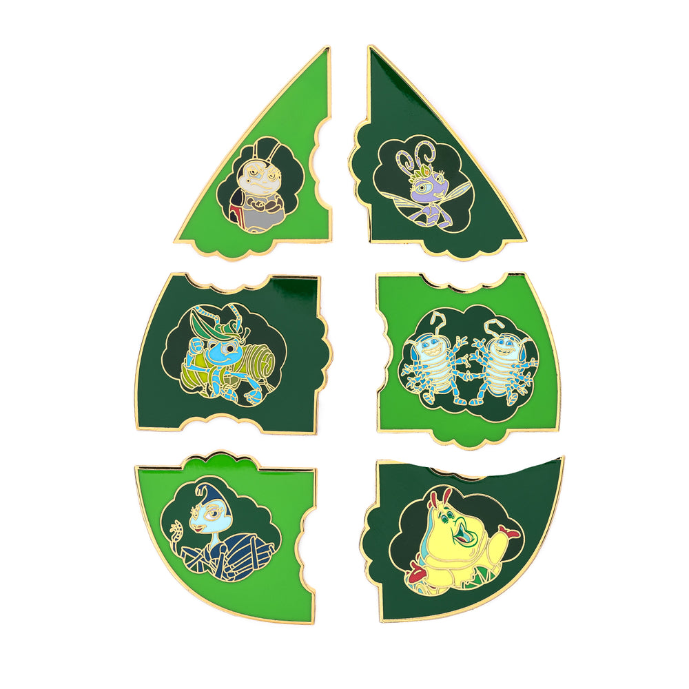 Loungefly X Pixar A Bugs Life Leaf Blind Box Pins-zoom