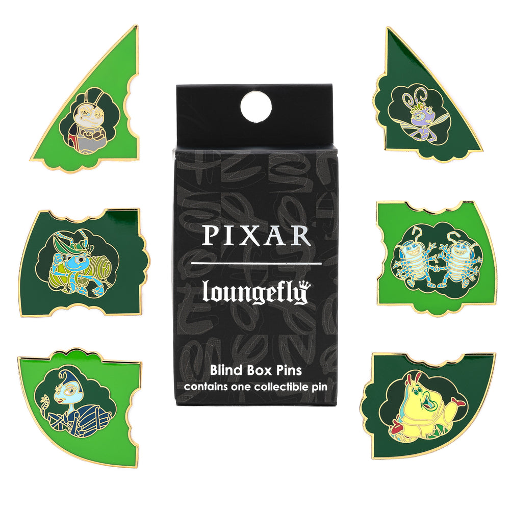 Pixar A Bugs Life Leaf Blind Box Pins-zoom