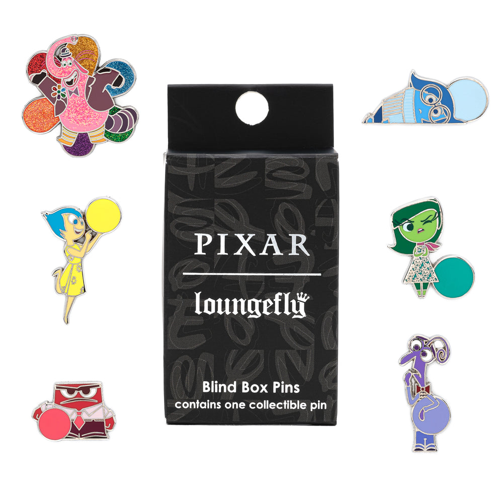 Loungefly X Pixar Inside Out Blind Box Pins-zoom