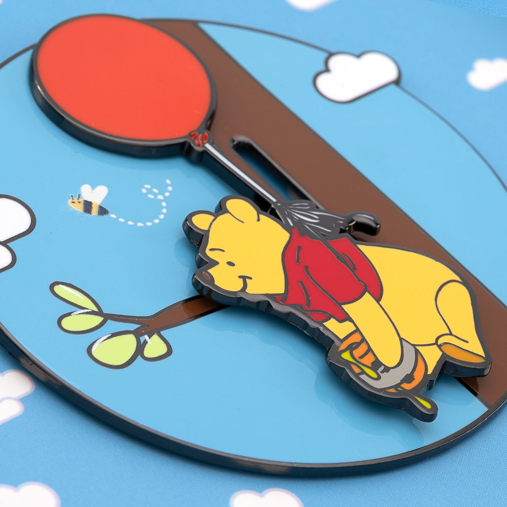 Disney Winnie the Pooh Collector Box Enamel Pin-zoom