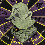"The Nightmare Before Christmas Oogie Boogie LE 2000 3"" Collector Box Enamel Pin"