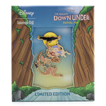 "Disney The Rescuers Down Under LE 1000 3"" Collector Box Enamel Pin"