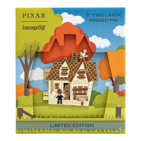 Pixar Up House Collector Box Hinged Enamel Pin