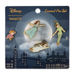 Disney Peter Pan 4pc Enamel Pin Set