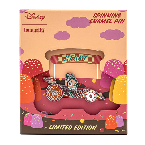 Disney Wreck-It Ralph Vanellope Collector Box Spinning Enamel Pin
