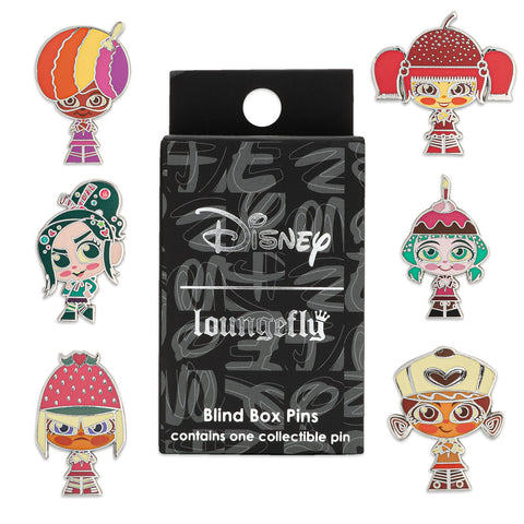 Disney Wreck-It Ralph Sugar Rush Racers Blind Box Enamel Pin